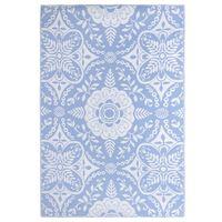 vidaXL Outdoor Carpet Baby Blue 190x290 cm PP