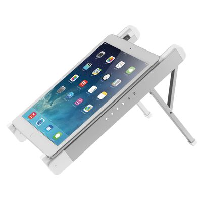 NewStar Foldable Laptop Stand 11-17 Silver