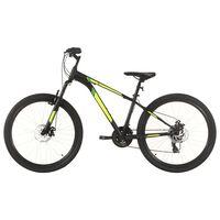 vidaXL Mountain Bike 21 Speed 27.5 inch Wheel 42 cm Black