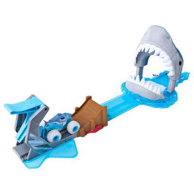 Monster Jam Basic Toy Racing Set Megalodon Mayhem 1:64