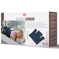 Sissel Linseed Heating Pad Linum 38x36 cm Blue SIS-150.051