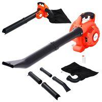 vidaXL 3-in-1 Petrol Leaf Blower 26 cc Orange