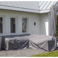 Madison Outdoor Lounge Set Cover 320x255x70cm Right Grey