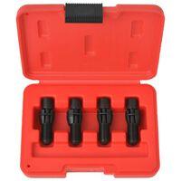 vidaXL Subframe Locating Pin Set 4 pcs for VW Audi Steel