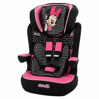 Disney Car Seat I-Max Minnie Group 1+2+3 Black