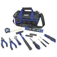 Brüder Mannesmann 30 Piece Tool Set in Travel Bag