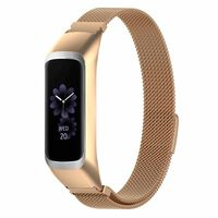 Stainless Steel Watch Band Samsung Galaxy Fit E R375 Rosegold