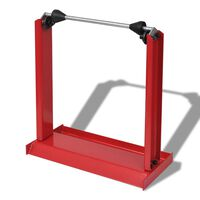 Professional Motorcycle Wheel Balancing Stand Red