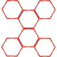 Avento Agility Grids  6 pcs Hexagon