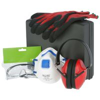 Kerbl 4 Piece Safety Set in Case PPE