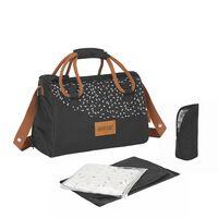 Badabulle Baby Changing Bag Pocketstyle Camel and Black