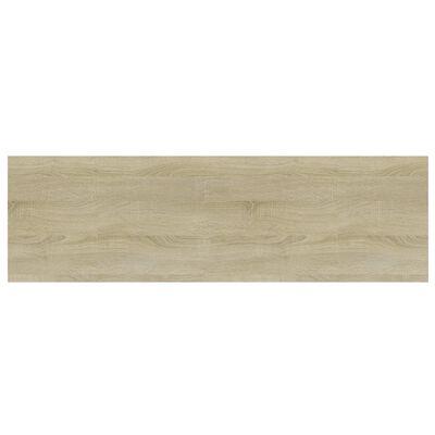 vidaXL Bookshelf Boards 8 pcs Sonoma Oak 100x30x1.5 cm Chipboard