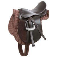 Kerbl Haflinger Saddle Leather Brown 32198
