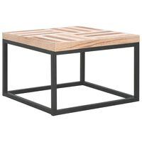 vidaXL Coffee Table 50x50x33.5 cm Solid Wood