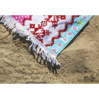Happiness Beach Towel PARADISE 100x180cm Multicolour