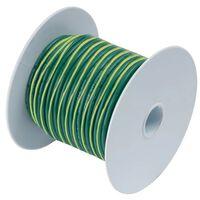 ANCOR GREEN W/ YELLOW STRIPE 25' 10 AWG WIRE