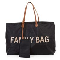 CHILDHOME Diaper Bag Family Bag Black
