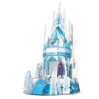 Frozen 2 3D Puzzle Ice Palace 47pcs Translucent Blue