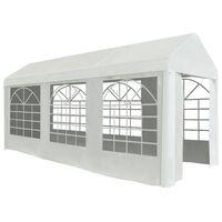vidaXL Party Tent PE 2x5 m White