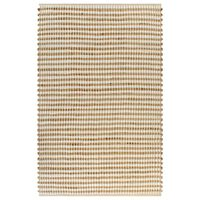 vidaXL Hand-Woven Jute Area Rug Fabric 120x180 cm Natural and White