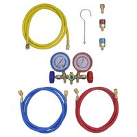 2-way Manifold Gauge Set for Air Conditioning
