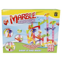 Marble racing Deluxe Marble Track Set 105 pcs