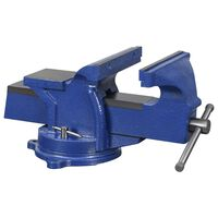 vidaXL Bench Vice with Swivel Base 150 mm