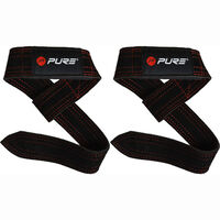Pure2Improve Buffalo Leather Lifting Straps 60x4 cm