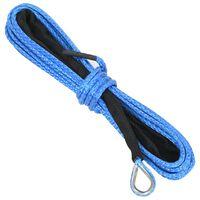 vidaXL Winch Rope Blue 5 mm x 9 m