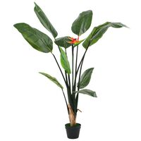 vidaXL Artificial Strelitzia Reginae Plant Bird of Paradise 155 cm