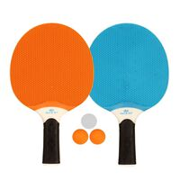 Get & Go Outdoor Table Tennis Set Blue/Orange/Light Grey 61UP