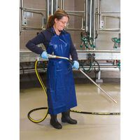 Kerbl Milking and Washing Apron Synthetics Blue 125x100 cm 15151