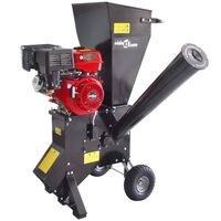 Petrol-powered Wood Chipper with 13 HP Motor