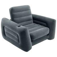 Intex Pull-Out Chair 117x224x66 cm Dark Grey