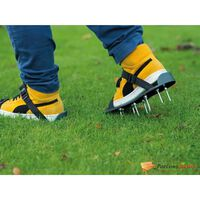 Nature Lawn Aerator Sandals Green