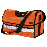 Toolpack High-visibility Tote Tool Bag Timber Orange and Black