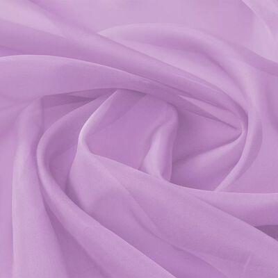 vidaXL Voile Fabric 1.45x20 m Lilac