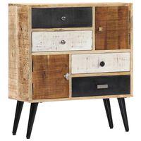vidaXL Sideboard 70x30x78 cm Solid Mango Wood