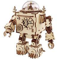 Robotime DIY Music Box Model Kit Steampunk Orpheus