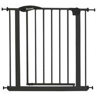 Baninni Safety Gate Vicino Metal 75-85cm Dark Grey