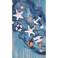 Good Morning Beach Towel KEVIN 100x180cm Blue