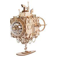 Robotime DIY Music Box Model Kit Steampunk Submarine