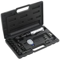 "vidaXL 16 Piece Air Ratchet Wrench Kit 1/2"""