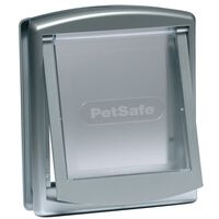 PetSafe 2-Way Pet Door 737 Small 17.8x15.2 cm Silver 5019