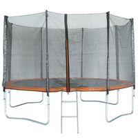TRIGANO Trampoline with Safety Net 366 cm