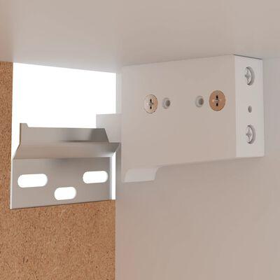 vidaXL Hanging Cabinet White 29.5x31x60 cm Chipboard