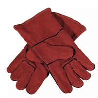 GYS Multifunctional Gloves Leather Red