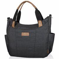 """420944 Baninni Diaper Bag """"Bari"""" Black BNDB009-BK"""