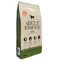 vidaXL Premium Dry Dog Food Adult Essence Beef 15 kg