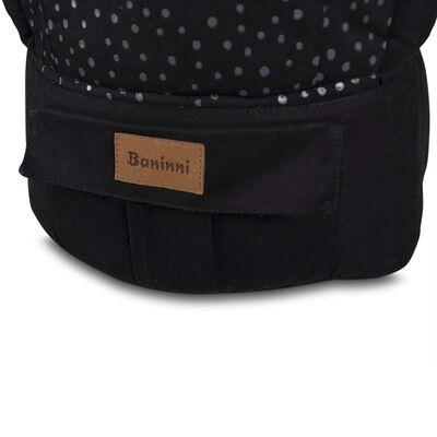 Baninni Baby Carrier Mundo Black